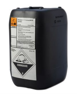 Sodium Hypochlorite 14/15% 20ltr