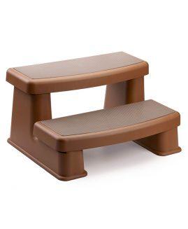 Polymer steps - redwood